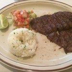 Great steak!!! (I ate a piece off)