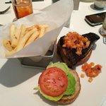 Blackened Tuna and Fries