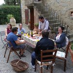 Dégustation huile olive maison