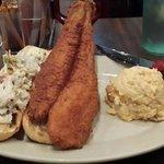 My catfish sandwich