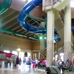 waterpark slides