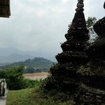 View of Luang Prabang from Wat Chomphet