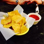 Chips and salsa always start a great meal at Mi Ranchito