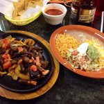 Steak Fajitas are to die for!