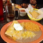 Best Enchiladas Around at Mi Ranchito