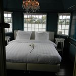 The Bedroom With Windows Overlooking the Zaan River