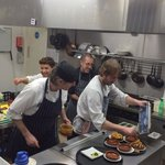 Watch the chefs at work in our new venue