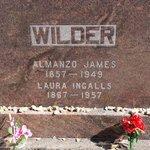 The Wilder's gravestones.