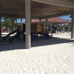 Beachside playground across the street