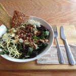 Raw salad goodness