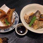 美味しんぼにも紹介されたゲンゲの竜田揚げ、美味しかったです