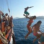 On gulet gunay 1 fantastic max 12 people real sailing