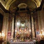 la cappella con l'immagine miracolosa