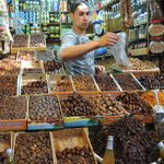 Trying some dates (souk tasting trail)