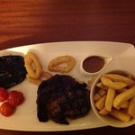 Food poor, £21.95 for this rubbish, read my review!