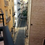 View from room to Calle Ercilla