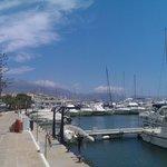 Altea marina near Cafe Citrus