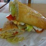 Questo panino costa 12€ ......e fa schifo!!!!