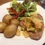 Tuna steak with Chilli Salsa (specials)