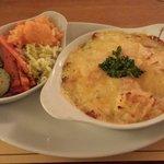 Fishermans pie and veg