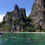 Snorkeling near Mosquito island