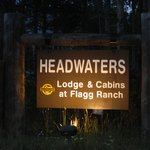 Lodge sign by Hwy 191