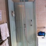 The powerful shower in Room 4