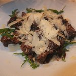 Fillet of Beef with Balsamic, Parmasan and Rocket