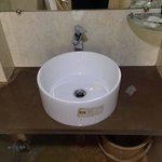 Dirty bathroom sink