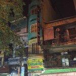 Kangaroo Hotel Hanoi at night
