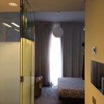 ingresso della stanza