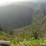 The Bandama's crater