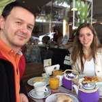 Our breakfast @ tea connection