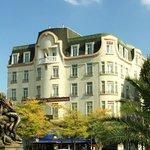 Façade du Grand Hôtel de Valenciennes