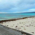 Idyllic tranquil beach