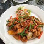 Chicken cashew nuts - amazing!
