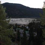 Mist in the valley below, 6am