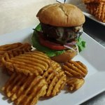 The 1/2 Hand Patted Maloo Burger