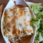 seafood cannelloni (delish!)