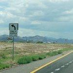 93号線を南下中、左手に緑地の看板があったら左折
