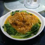 A large pork ball with Crab gravy. RMB38