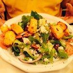 Chicen kabob salad