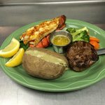 Filet Mignon & Lobster Tail Special
