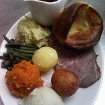 Sunday  roast beef lunch