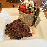 Greek Salad with Steak