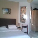 OUR ROOM WHICH WAS NEWLY REFURBISHED AND SPACIOUS.