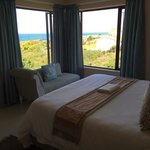 Blick vom Schlafzimmer No. 1 aufs Meer