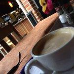 Great coffee , beautiful place