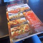 Big menu, lots of choices