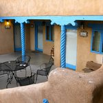 The Patio for Acoma, Isleta, and Navajo Rooms